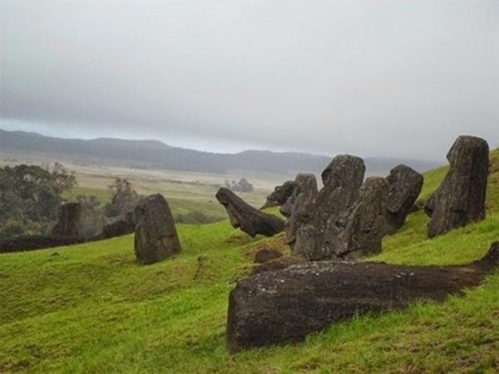 La civilisation de l'ile de Pâques n'aurait pas connu un simple effondrement   Les Découvertes Archéologiques (Blog)   À la une   Scoop.it