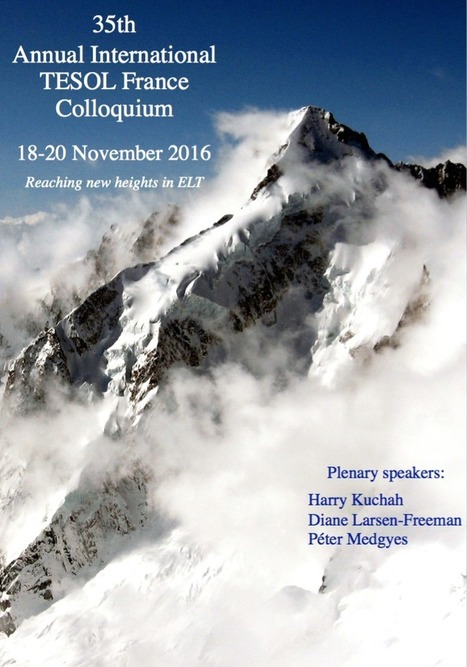 Colloquium 2016 | TESOL France | TELT | Scoop.it