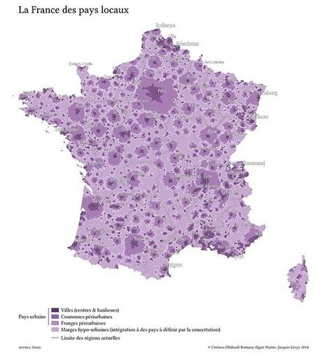 La France recomposée | Chôros | carto | Scoop.it