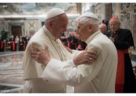 Benedikt XVI. oslávil 65. výročie kňazskej vysviacky s pápežom Františkom | Správy Výveska | Scoop.it