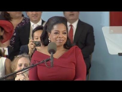Graduation comments by Oprah Winfrey at Harvard Commencement | Educational | Scoop.it