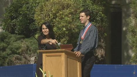 Non-verbal teen with autism gives graduation address at school | Autism | Scoop.it