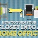 How To Create A Closet Office | The Office | Scoop.it