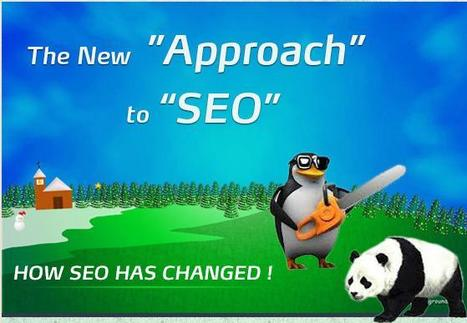New Approach to SEO Infographic | Topics about SEO and Social Media Marketing | Scoop.it