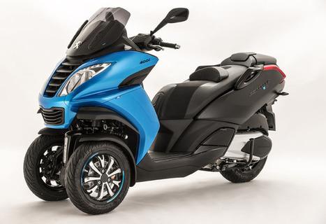 New Peugeot Metropolis Blue-Line | Motorcycle Industry News | Scoop.it