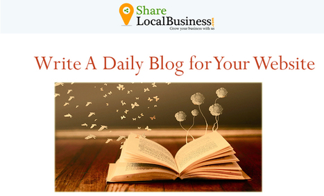 Free Blog Publishing Websites List for 2015 - Share Local Business Blog | sharelocalbusiness | Scoop.it