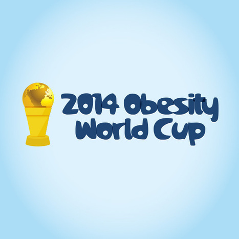 2014 Obesity World Cup | Health Infographics | Scoop.it
