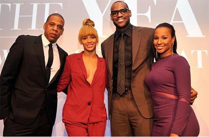 Photo du jour - Jay-Z, Beyonce et LeBron James au 2012 Sports Illustrated Sportsman of the Year | Rap , RNB , culture urbaine et buzz | Scoop.it