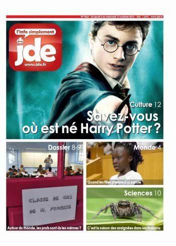JDE n°1562 (6 au 12 octobre 2016) | Les revues de la médiathèque | Scoop.it