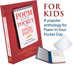 Poem in Your Pocket Day- Poets.org - Poetry, Poems, Bios & More | K-12 Library Resources | Scoop.it