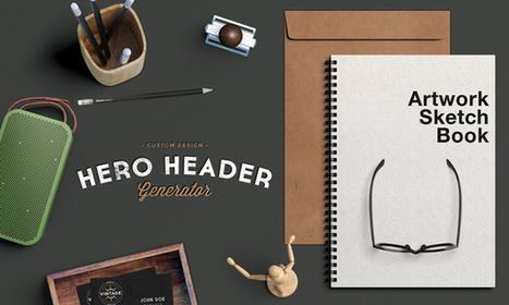 Free Mockup | Hero Header Scene | Design Freebies & Deals | Scoop.it