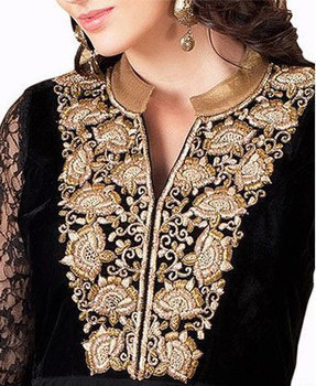 Neck Designs for Decoration of Salwar Suits 2016 | styleuneed | Scoop.it