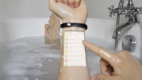 Cicret Braclet Turns Your Arm into a Touchscreen Display   imurgeek.com   Scoop.it