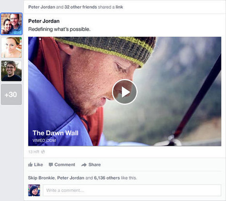 Facebook's Revamped News Feed Aspires To Be A Personalized Newspaper | Small Business Marketing | Scoop.it