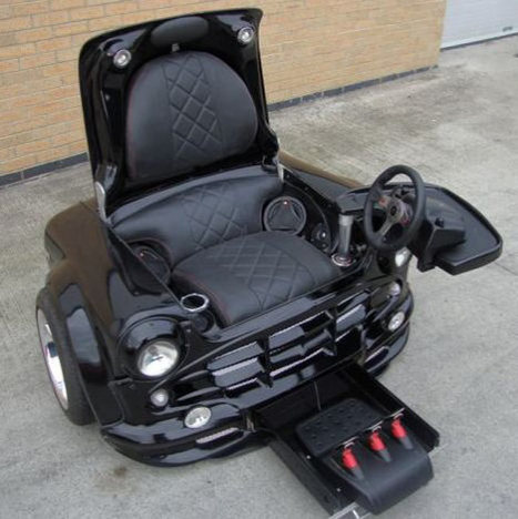 Awesome Mini Cooper Gaming Chair | All Geeks | Scoop.it