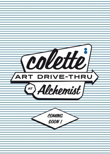 Colette x Alchemist Drive-Thru at Miami Art Basel | Trends Hunting | Scoop.it