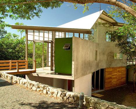 cincopatasalgato complete the casa tuscania in the rain forests of el salvador - designboom | architecture & design magazine | architecture | Scoop.it
