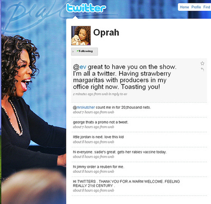 The Oprah Guide to Using Social Media to Build Her Business | SocialMedia Source | Scoop.it