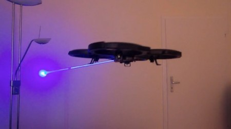 Quadcopter converted into balloon-hunting Laser Drone | Science, Technology, and Current Futurism | Scoop.it