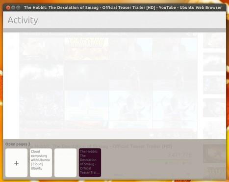 Testez Webbrowser APP le navigateur par défaut d'Ubuntu Touch ... | ubuntu | Scoop.it