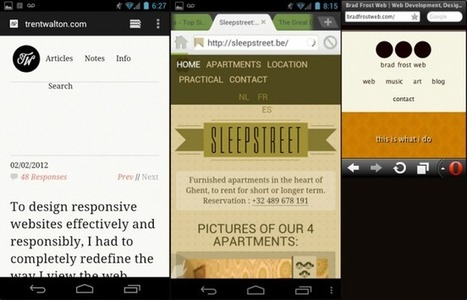 Responsive Navigation Patterns | Brad Frost Web | Développement webapp & applications | Scoop.it