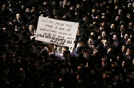 Haredim Harangue the High-Ups: Protests Against Conscription | Warhol's Children | Scoop.it