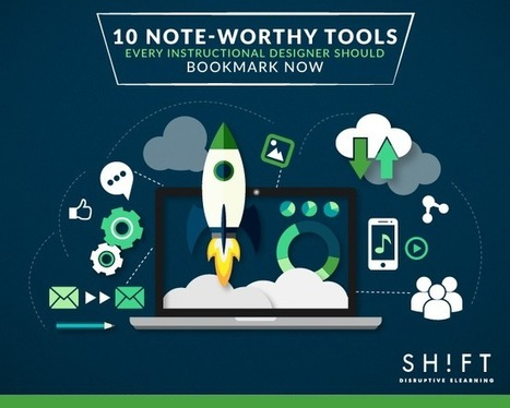 10 Note-worthy Tools Every Instructional Designer Should Bookmark Now | Teaching in Higher Education | Scoop.it
