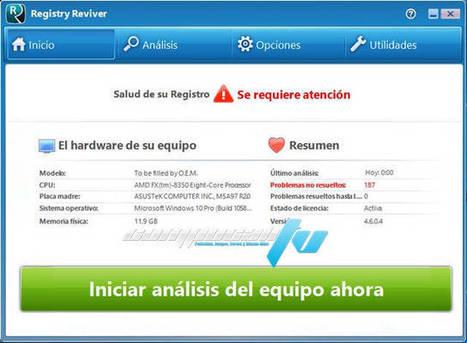 ReviverSoft Registry Reviver 4.6 Full Español | Descargas Juegos y Peliculas | Scoop.it