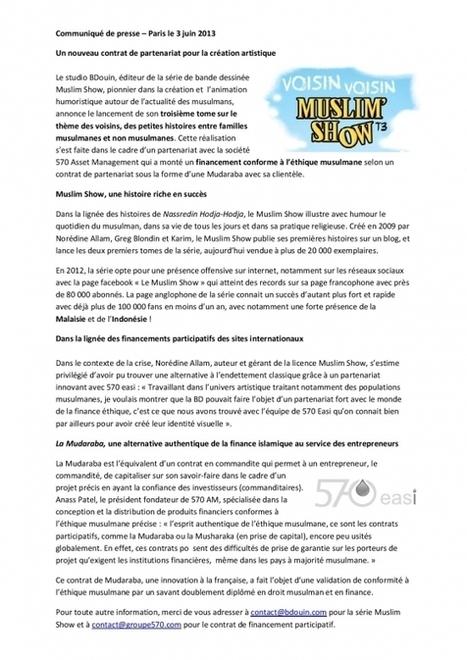 570easi - 570 et Muslim Show... | Actualité de la finance easi | Scoop.it