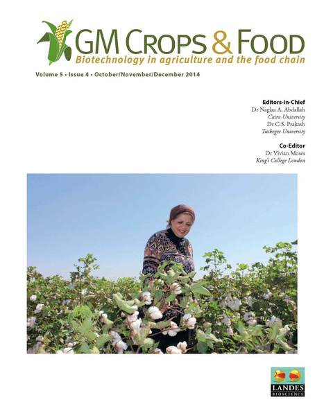 Environmental impacts of genetically modified (GM) crop use 1996-2013: impacts on pesticide use and carbon emissions - Brookes & Barfoot (2015) - GM Crops Food | Ag Biotech News | Scoop.it