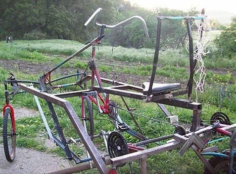 Le vélo-tracteur au bout du champ / France Inter | Agroéquipement | Scoop.it
