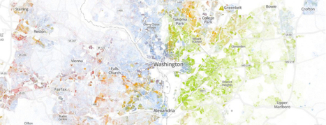 The Racial Dot Map: One Dot Per Person | Weldon Cooper Center for Public Service | Searching for the Bellman's map | Scoop.it