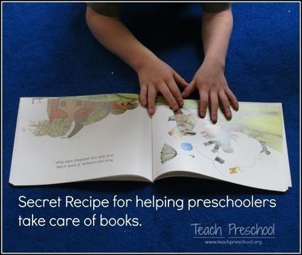The secret recipe for inviting children to take care of books in the preschool classroom   Teach Preschool   Scoop.it