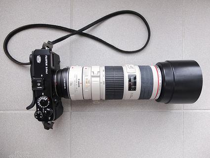 Fuji X-Files: Fuji X-Pro 1 and Canon EF lenses | Fuji X | Scoop.it