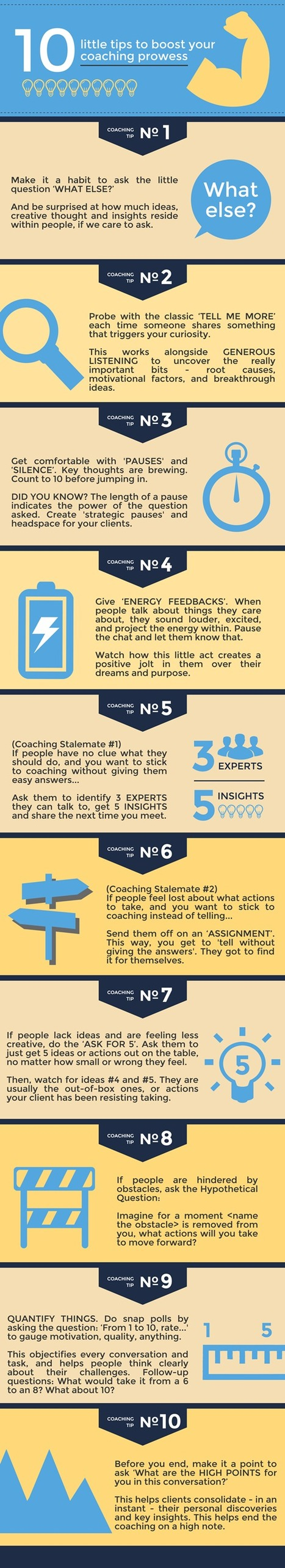 Ten Little Tips to Boost Your Coaching Prowess ‹ http://coachfederation.org/blog | Graphic Coaching | Scoop.it