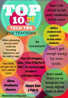 Top 10 Tech Tips For Teachers   edu-cloud & more   Scoop.it