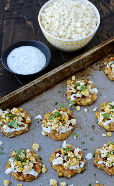 The Foodie Physician: Dining with the Doc: Mexican Street Corn Fritters | Notebook | Scoop.it