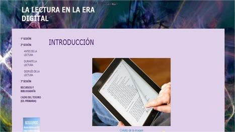 LA LECTURA EN LA ERA   DIGITAL | Tauletes a l'aula | Scoop.it