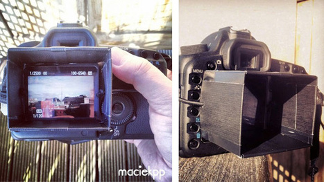 Make a DSLR LCD Hood Out of Old Hotel Key Cards - Lifehacker | DSLR Video Expert | Scoop.it