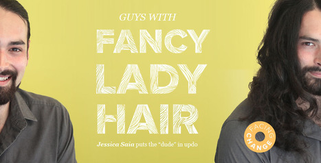 Guys With Fancy Lady Hair | Identité visuelle | Scoop.it