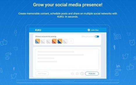 Kuku: programa y publica actualizaciones en múltiples Redes Sociales | Al calor del Caribe | Scoop.it
