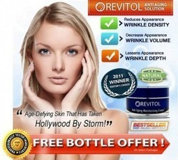 Revitol Gives Away Free Bottle of Natural Wrinkle Cream | Revitol Wrinkle cream | Scoop.it