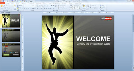 Free Attitude PowerPoint Template | business | Scoop.it