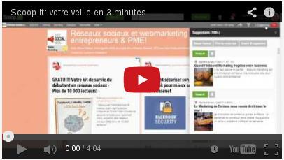 Réalisez votre veille en 3 minutes grâce à Scoop-it ! | TICE, Web 2.0, logiciels libres | Scoop.it
