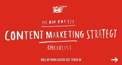 B2B Content Marketing Strategy Checklist | Velocity Partners | Velocity Partners | content marketing | Scoop.it