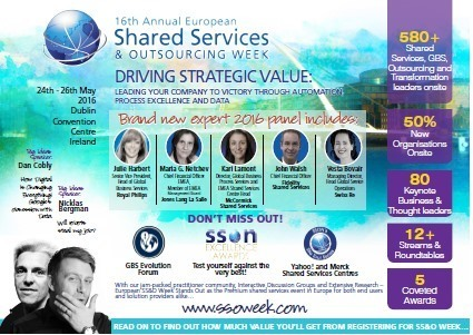 16th Annual European Shared Services & Outsourcing Week | Lean Six Sigma Jobs | Scoop.it