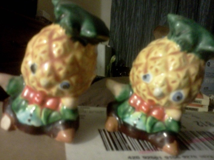 PINEAPPLE SALT AND PEPPER SHAKERS | Kitsch | Scoop.it
