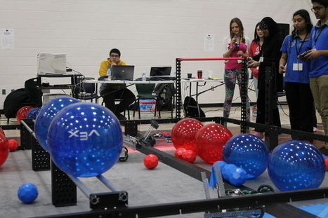 Students participate in VEX Robotics Competition - Fort McMurray Today | Tinkering and Innovating in Education | Scoop.it