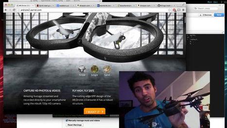 Comment pirater un drone ? - Korben | 001 | Scoop.it