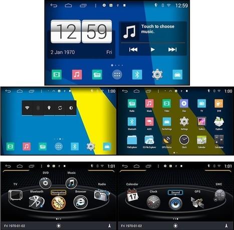 Autoradio Android Audi A4, S4, RS4 (2002-2008) Poste DVD GPS Android 4.4.4 USB Bluetooth écran tactile Mirrorlink AirPlay 4G IPOD Iphone TV | Poste Radio << Autoradio GPS << Autoradio pas cher | Scoop.it